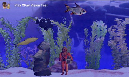 Fish tank skinhat for Moai fish tank